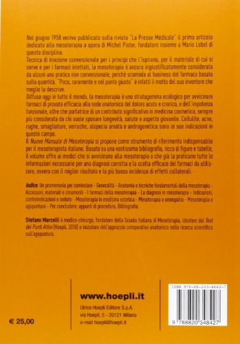 Zoom IMG-1 nuovo manuale di mesoterapia