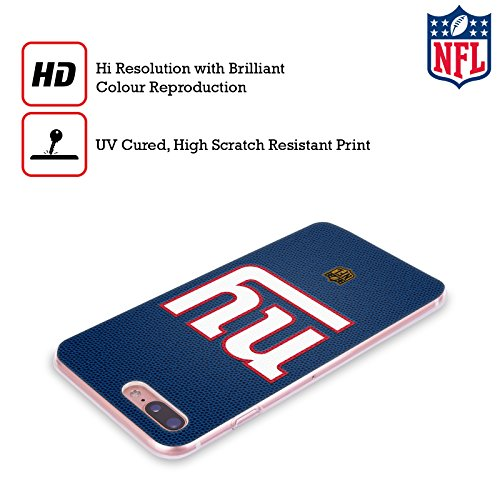Offizielle NFL Camou New York Giants Logo Soft Gel Hülle für Apple iPhone 6 / 6s Fussball