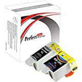 PerfectPrint - Juego de 2cartuchos de tinta PerfectPrint compatibles Reemplazar 30cl 30x l para impresora Kodak ESP 1.2, 3.2, 3.2s C110C310C315ESP Office 2170HERO 3.15.1