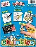 Shrinkles SCHOOL PACK - White - Shrink Art