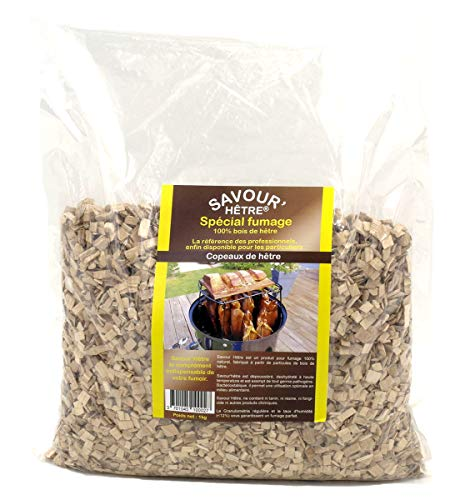 Savour'H�tre Beechwood Chips for BBQ Smokers 1kg