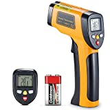 Termometro a infrarossi a contatto non a contatto, pistola a raggi laser a raggi laser digitali con display LCD retroilluminato HD -58 ℉ - 1202 ℉ (da -50 a 650 ℃)
