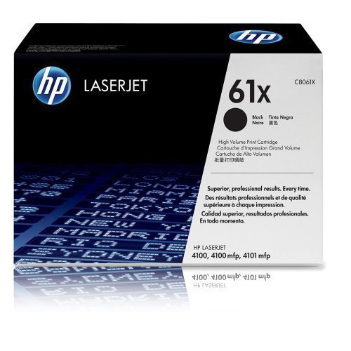 Original Toner HP C8061X 61X Laserjet 4100 4100DN 4100DTN