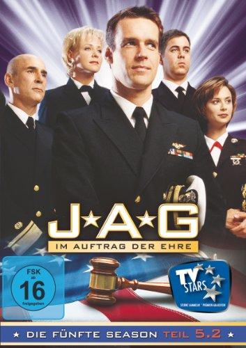 JAG: Im Auftrag der Ehre - Die fünfte Season, Teil 5.2 [3 DVDs]
