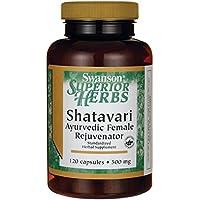 Swanson Shatavari (500mg, 120