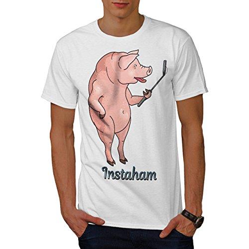 wellcoda Instaham Essen Männer 3XL T-Shirt