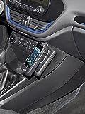 KUDA Telefonkonsole (LHD) für Ford Fiesta (8. Gen) ab Bj. 07/2017 - Kunstleder Schwarz