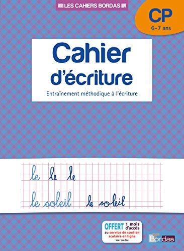 Cahier d'écriture CP par Collectif