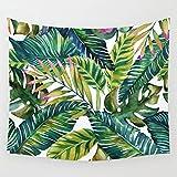 Regis Wand-Dekoration Kunsthandwerk-wandbehang Forest Muster Tapisserie Strand Handtuch Wandbehang-B 150x130cm(59x51inch)
