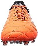 adidas Ace 15.1 FG/AG Leather, Herren Fußballschuhe, Orange (Solar Orange/Ftwr White/Core Black), 46 2/3 EU (11.5 Herren UK) -