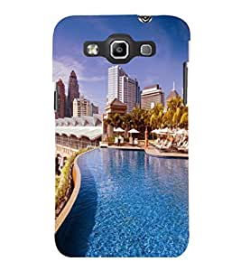 printtech Building Waterpool Back Case Cover for Samsung Galaxy Quattro i8552::Samsung Galaxy Quattro Win i8552