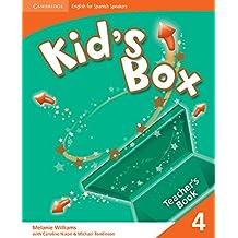 Kid's Box for Spanish Speakers  4 Teacher's Book - 9788483239278