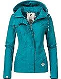 Ragwear Damen Jacke Übergangsjacke Kapuzenjacke YM-Ewok (vegan hergestellt) 5 Farben XS-XL