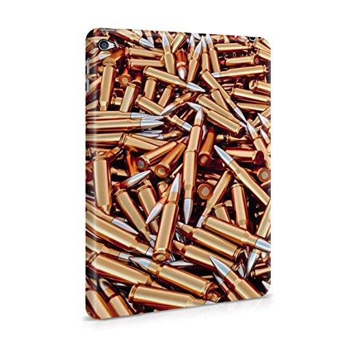 Rifle Bullets Ammo Battle for Peace Warfare Pattern Dünne Rückschale aus Hartplastik für iPad Mini 4 Tablet Hülle Schutzhülle Slim Fit Case Cover (Ipad Case Mini Bandana)