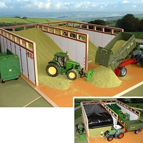 BRUSHWOOD TOY FARM BT8500 MONSTER SILAGE CLAMP by Brushwood
