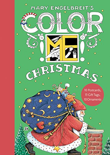 Mary Engelbreit's Color ME Christmas Book of Postcards -