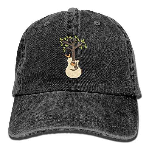 Dress rei Tree Acoustic Guitars Denim Hat Adjustable Male Mini Baseball Cap