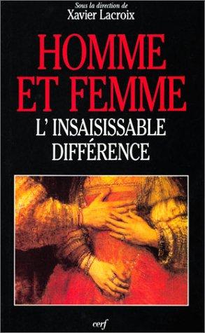 Homme et femme : L'Insaisissable différence