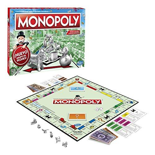 Hasbro Gaming Monopoly - Juego Propiedades Inmobiliarias