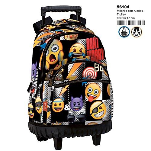 Montichelvo Montichelvo Trolley Em Sticker Bolso de Viaje, 46 cm, (Multicolour)