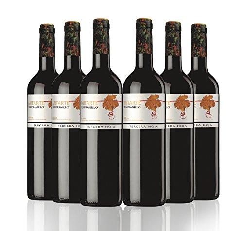San Jamón Mitarte Madurado Tercera Hoja Vino Tinto 4 Meses En Barrica Rioja - Paquete De 6 X 750 Ml - Total: 4500 Ml