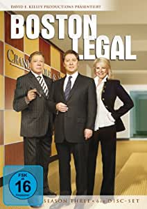 Boston Legal - Season Three [6 DVDs]