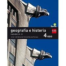 Geografía e historia. 4 ESO. Savia. Trimestres
