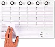 Planner Settimanale Scrivania - Calendario da Tavolo 2021 - Formato A3-42x30 cm - Weekly Planner - Planning Se