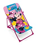 Disney Minnie Mouse Liegestuhl Gartenstuhl Liege Rosa
