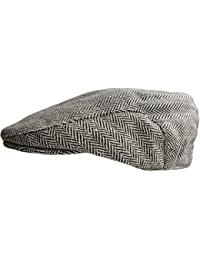 Mens Tweed Country Flat Cap