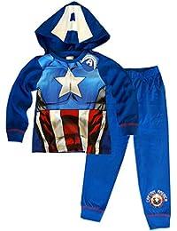 Boys Avengers Capt. America Novelty Pyjamas Pj Age 2-8 Years