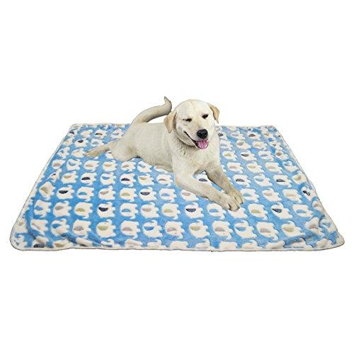 Pet Hund Katze Decke Fleece Stoff weich und Cute 3Farben (Leopard-druck-bettwäsche Für Mädchen)
