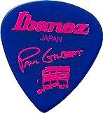 Ibanez Plectrums Paul Gilbert, Blister Pack Of 6 - Jewel Blue
