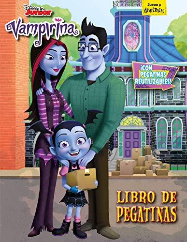 Vampirina. Libro de pegatinas: Con pegatinas reutilizables (Disney. Vampirina) por Disney