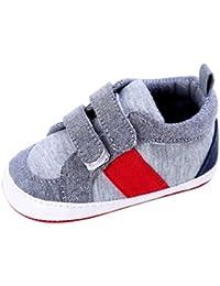 Zapatos de bebé SMARTLADY Recién nacido Niño Suave Zapato
