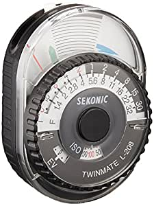 Sekonic Twinmate L-208 Compact Analogue Light Meter