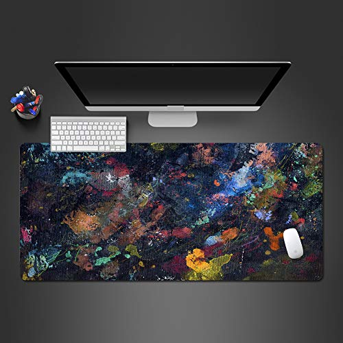 Hot art mouse pad tappetino mouse in gomma avanzata accessori per giochi per computer tastiera mouse pad player hot pad 900x300x2