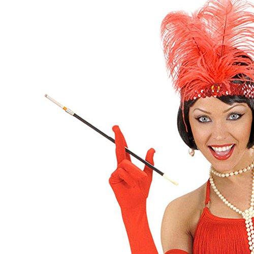 Lange Zigarettenspitze Zigarettenhalter Charleston Zigarretten Spitze Halter Accessoire Kostüm Zubehör (50er Jahre Kostüm Requisiten)