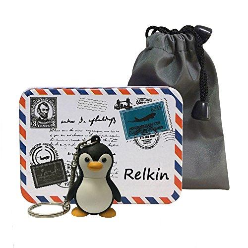 Relkin ad alta velocità usb flash drive usb 2.0regalo memory stick fumetto di pesce penguin 32 gb
