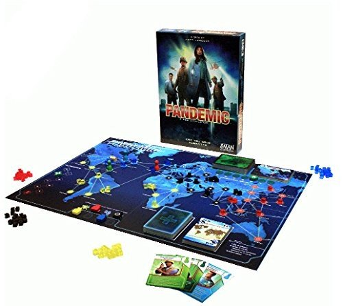 Asmodee Pandemic, Color Azul (ZM7101ES)