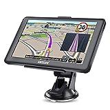 GPS Voiture Navigation GPS 7 Pouces HD écran Tactile Multi-Langue Voice Play Europe 52 Carte Pays Mise à Jour Utilisation Gratuite dans Voiture et Camion