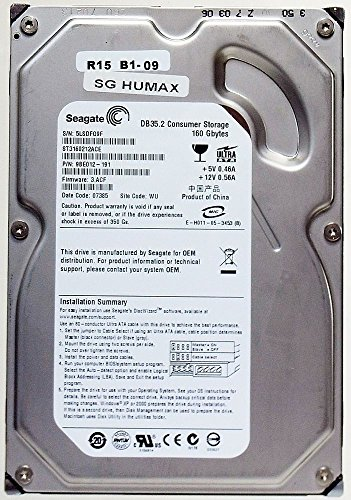 Seagate DB35.3 7200.3 160GB 3,5' U-ATA-100 IDE 2MB (ST3160212ACE) 7200RPM