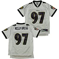 Reebok Baltimore Ravens NFL Kelly Gregg # 97 Youth Replica Jersey