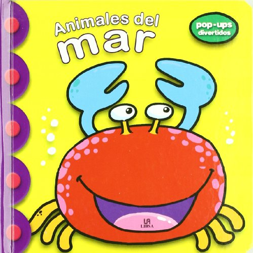 Animales del mar / Sea Animals (Pop-Ups Divertidos) por From Editorial Libsa Sa