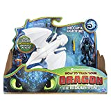 DreamWorks Dragons Lightfury and Hiccup, Armored Viking Figure