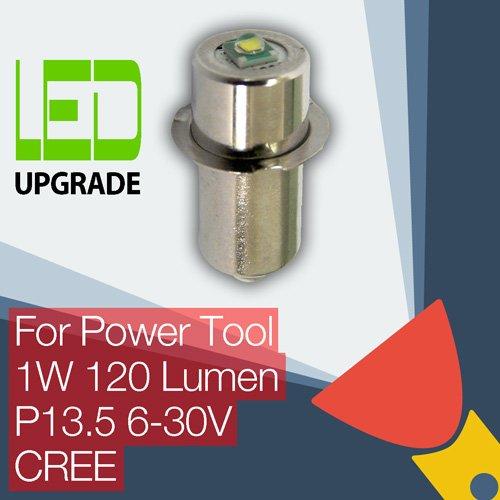 LED Upgrade Ersatz lampe Elektrowerkzeug Taschenlampen Bosch DeWalt Makita Hitachi Milwaukee Panasonic Ryobi Worx Black & Decker Snap-on 9.6 12 14.4 18 24v CREE