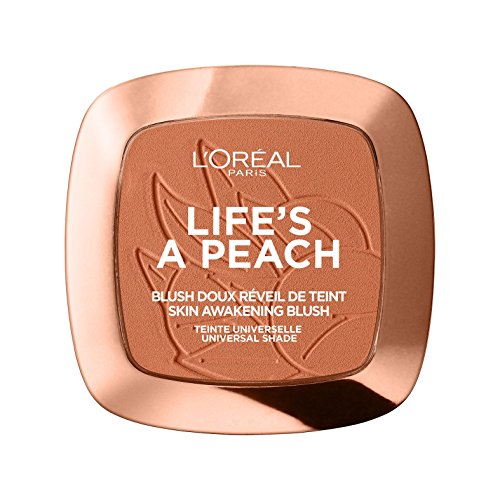 L\'Oréal Paris Rouge Life\'s a Peach Blush, 1er Pack (1 x 9 g)
