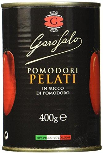 Garofalo Ganze, geschälte Tomaten, 8er Pack (8 x 400 g)
