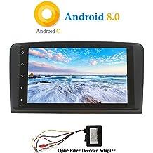 Hi-azul Android 8.0 Car Autoradio Autoradio Dash 8-Core 64Bit RAM 4G ROM 32G Car Radio 9 Autonavigation Kopfeinheit Car Audio f/ür Mercedes-Benz ML//GL Serie