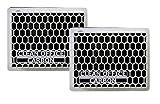 Clean Office Carbon Feinstaubfilter 15x12x4 cm (Doppelpack)